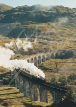 Glenfinnan Viaduct, West Highlands 2 Magnet (V CB)