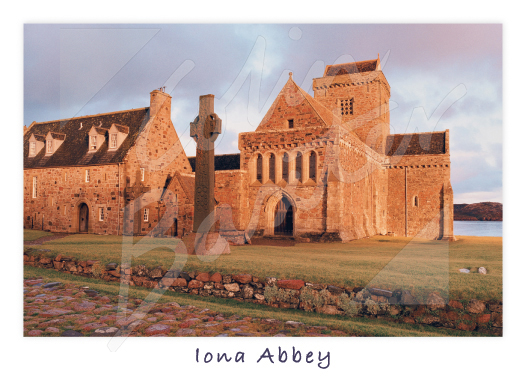 Iona Abbey 2 Magnet (H CB)