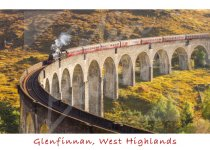 Glenfinnan Viaduct, West Highlands 2 Magnet (H CB)
