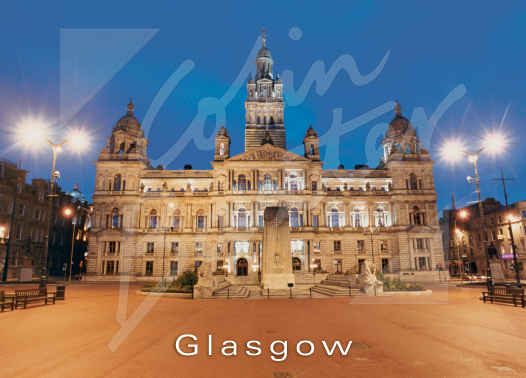 City Chambers, George Square, Glasgow Magnet (H CB)