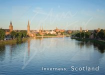 Inverness & River Ness, Highlands Magnet (H CB)