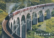 Glenfinnan Viaduct, West Highlands 1 Magnet (H CB)