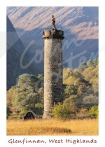 Glenfinnan Monument, West Highlands Magnet (V CB)