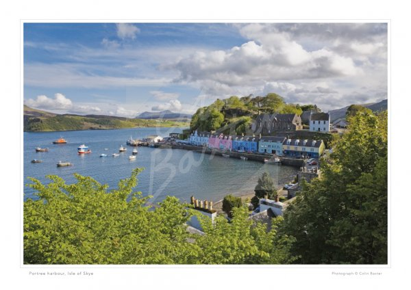 Portree Harbour, Isle of Skye Print