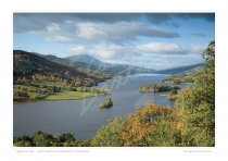 Queens View, Perthshire Print