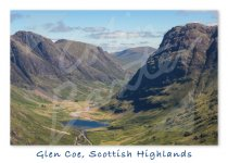 MG GB Glen Coe, West Highlands Magnet (H CB)