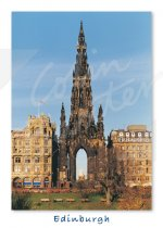 Scott Monument, Edinburgh Magnet (V CB)