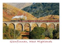 Glenfinnan Viaduct, West Highlands Magnet (H CB)