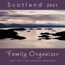 2021 Calendar Scotland Family Organiser (Mar)