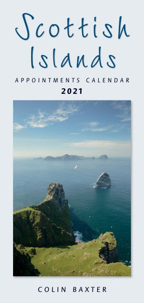 2021 Calendar Scottish Islands Appointments (Mar)